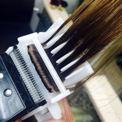 Машинка для секущихся кончиков волос видео