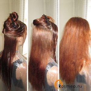подготовка к кератиновму выпрямлению волос