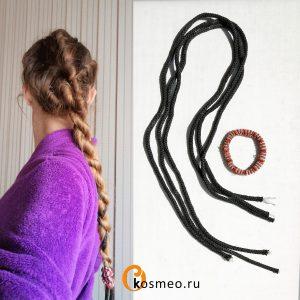 завивка волос жгутами