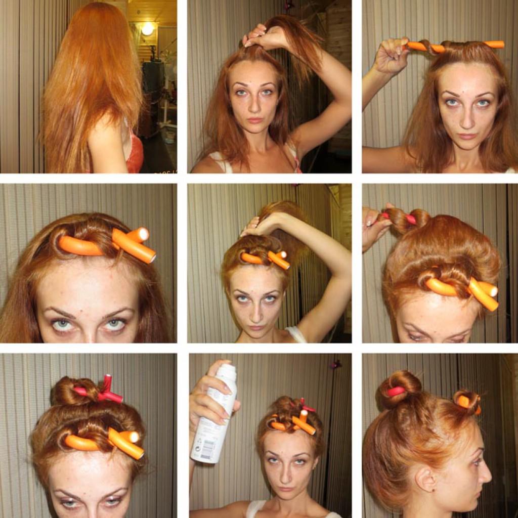 Как правильно накрутить волосы на бигуди самой себе