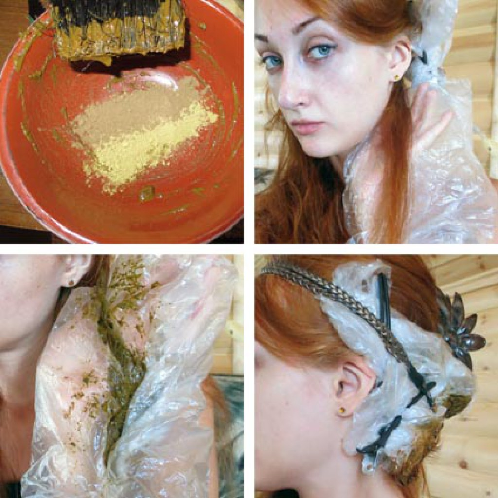 Как наносить хну на волосы? 3