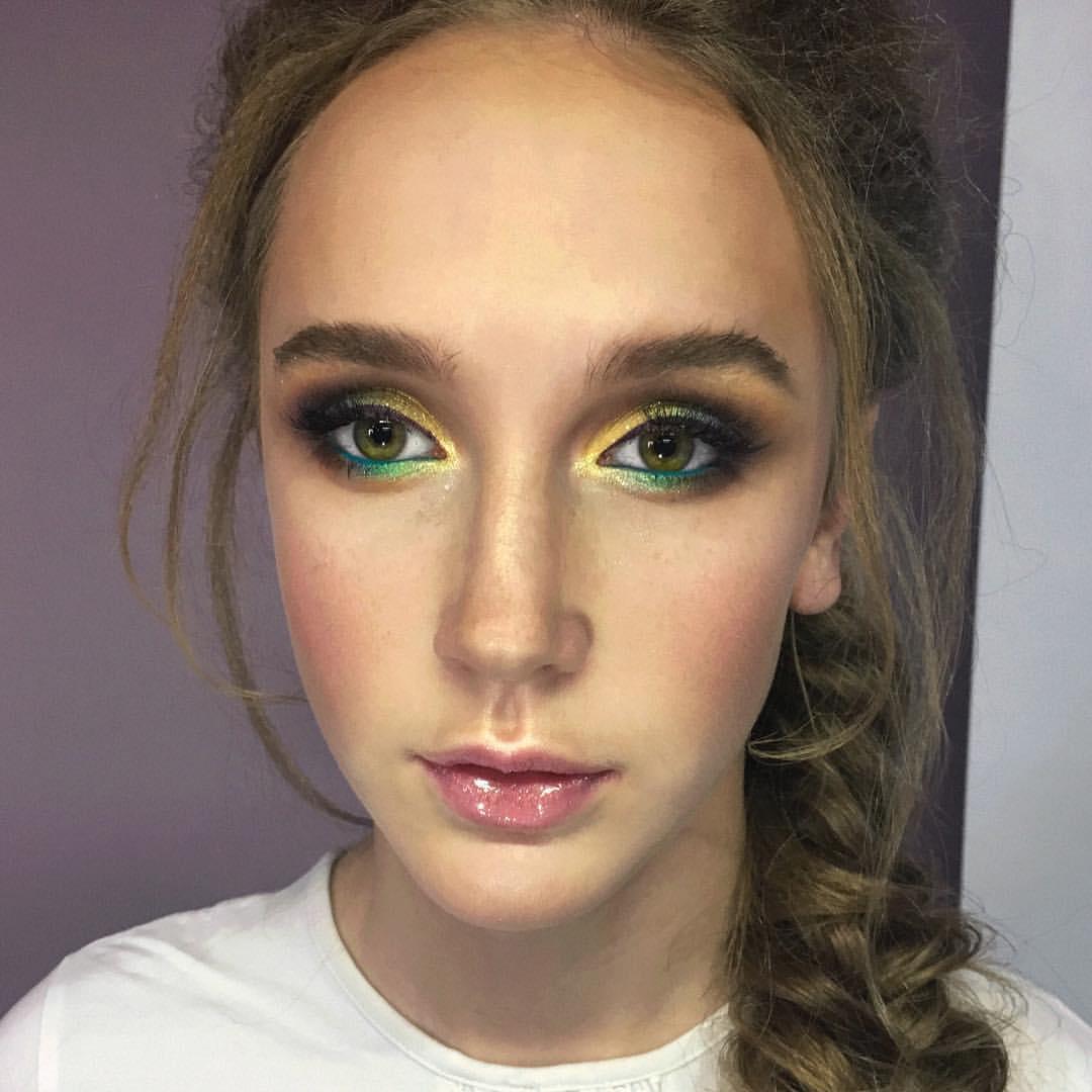 Смоки макияж мастер класс