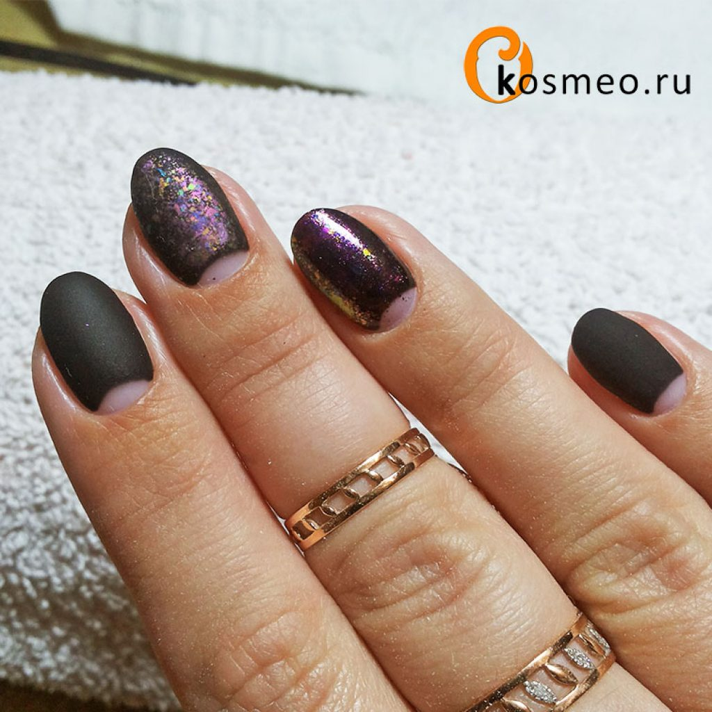 Хлопья юки для ногтей дизайн фото